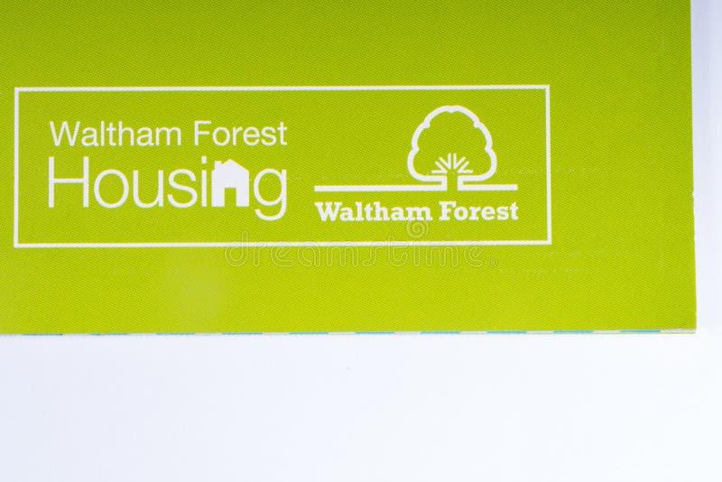 Il logo di Waltham Forest Housing immagine stock