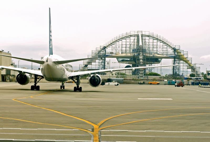 Il Los inclina l'aeroporto fotografie stock