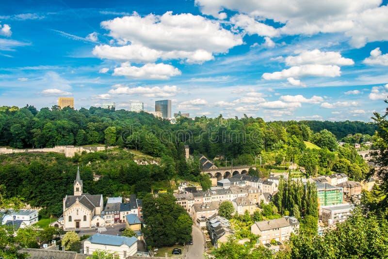 Il Lussemburgo fotografie stock libere da diritti