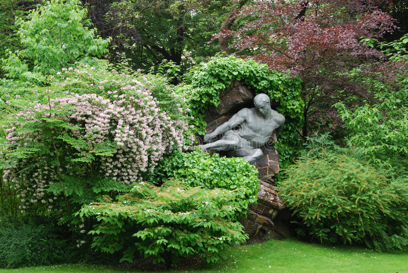 Il Lussemburgo fa il giardinaggio a Parigi fotografia stock