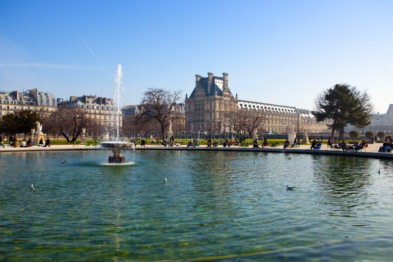 Il Lussemburgo fa il giardinaggio a Parigi fotografie stock libere da diritti