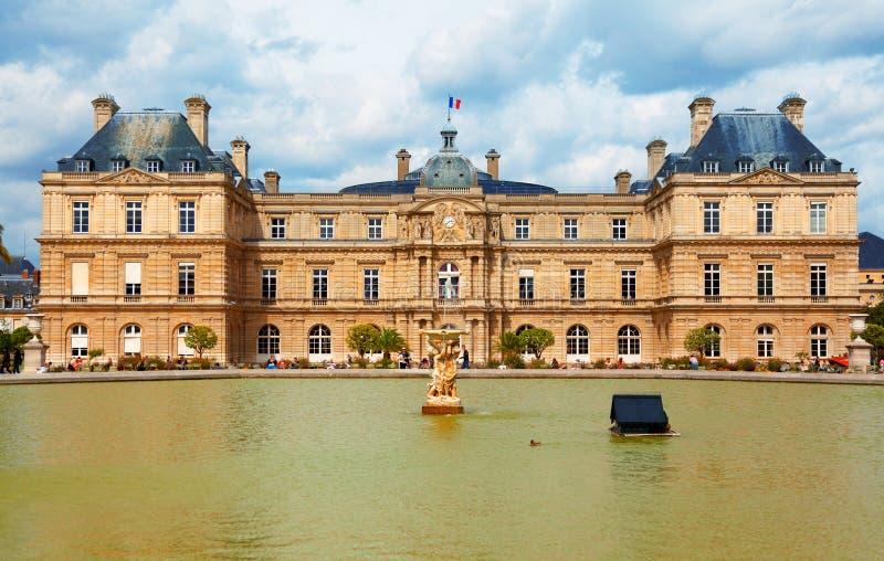 Il Lussemburgo fa il giardinaggio, Parigi immagini stock libere da diritti