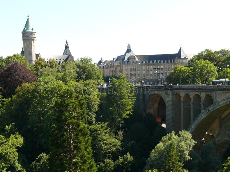 Il Lussemburgo - la città, il Gran Ducato del Lussemburgo, Europa immagine stock libera da diritti