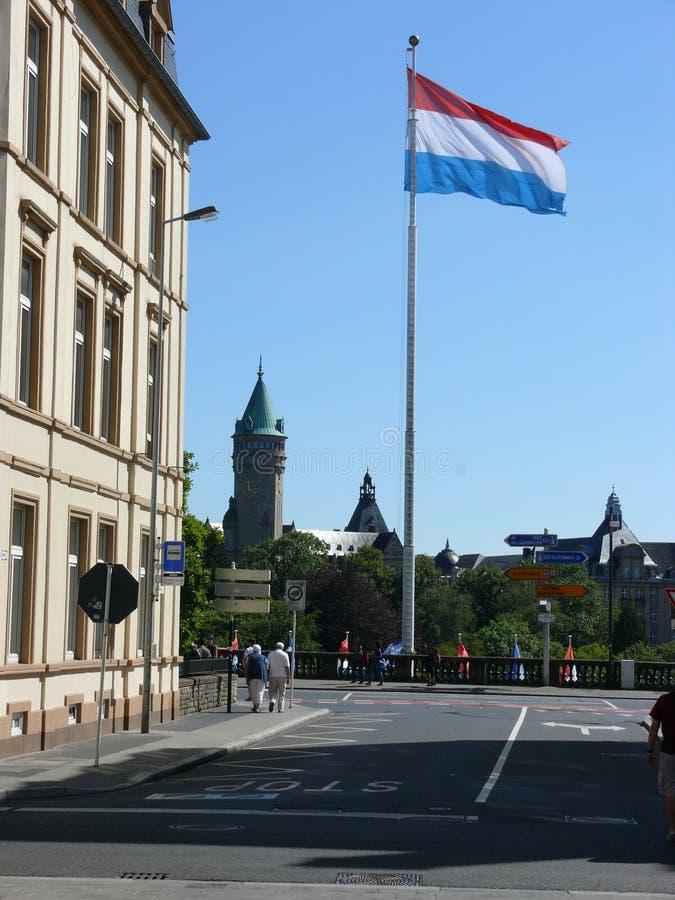 Il Lussemburgo - la citt?, il Gran Ducato del Lussemburgo, Europa fotografie stock