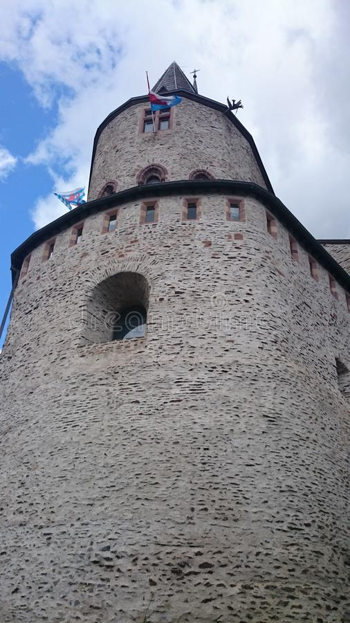 Il Lussemburgo Vianden immagine stock
