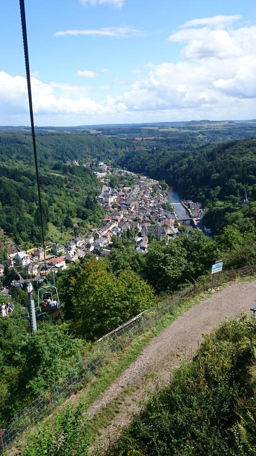 Il Lussemburgo Vianden immagini stock