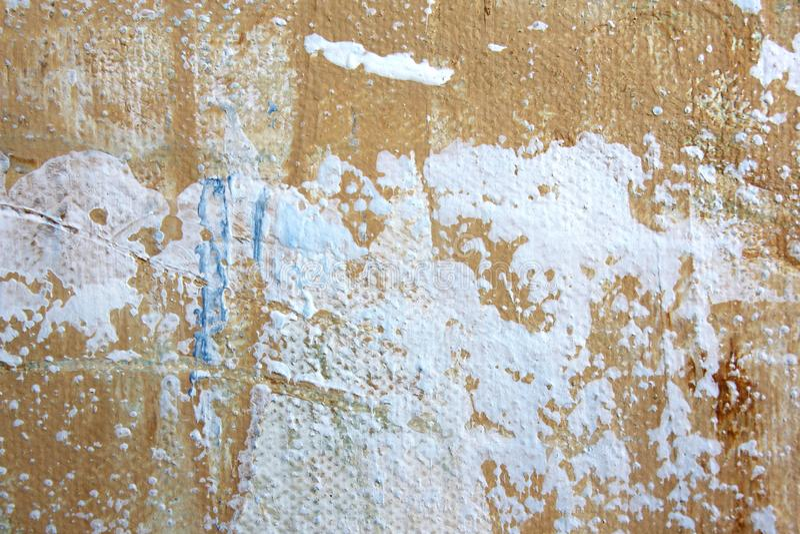 Il macro estratto Art Background Rainbow Colored Tie del fondo della tela di lerciume ha tinto il tessuto royalty illustrazione gratis
