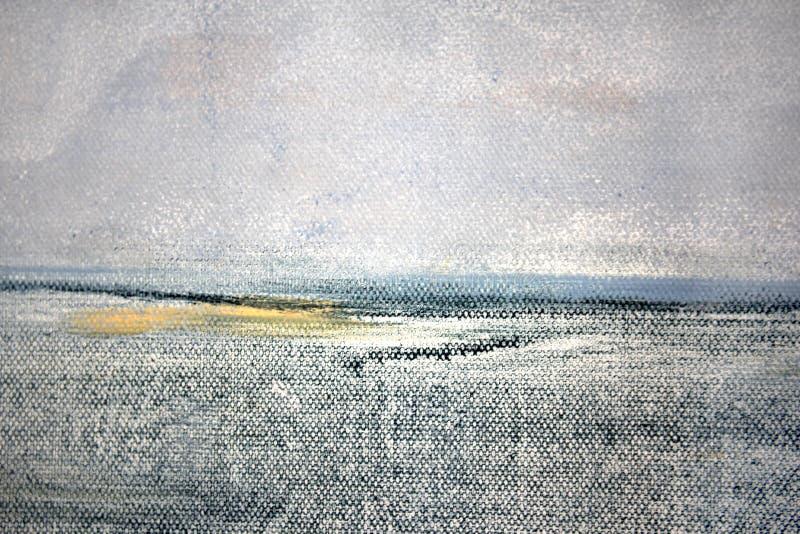 Il macro estratto Art Background Rainbow Colored Tie del fondo della tela di lerciume ha tinto il tessuto illustrazione di stock