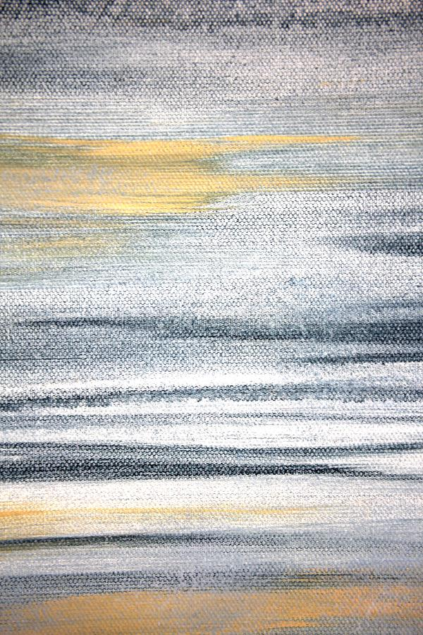 Il macro estratto Art Background Rainbow Colored Tie del fondo della tela di lerciume ha tinto il tessuto illustrazione vettoriale