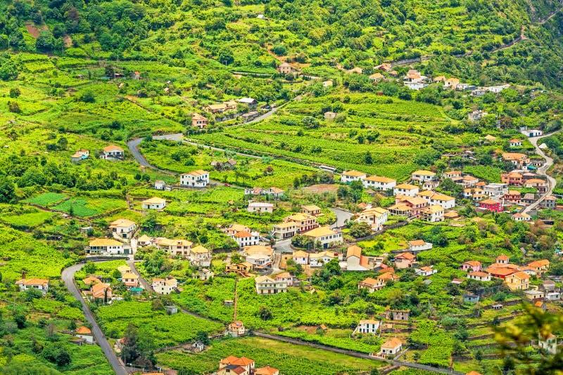Il Madera - Paesaggio Tipico, Colline A Terrazze Verdi Fotografia ...