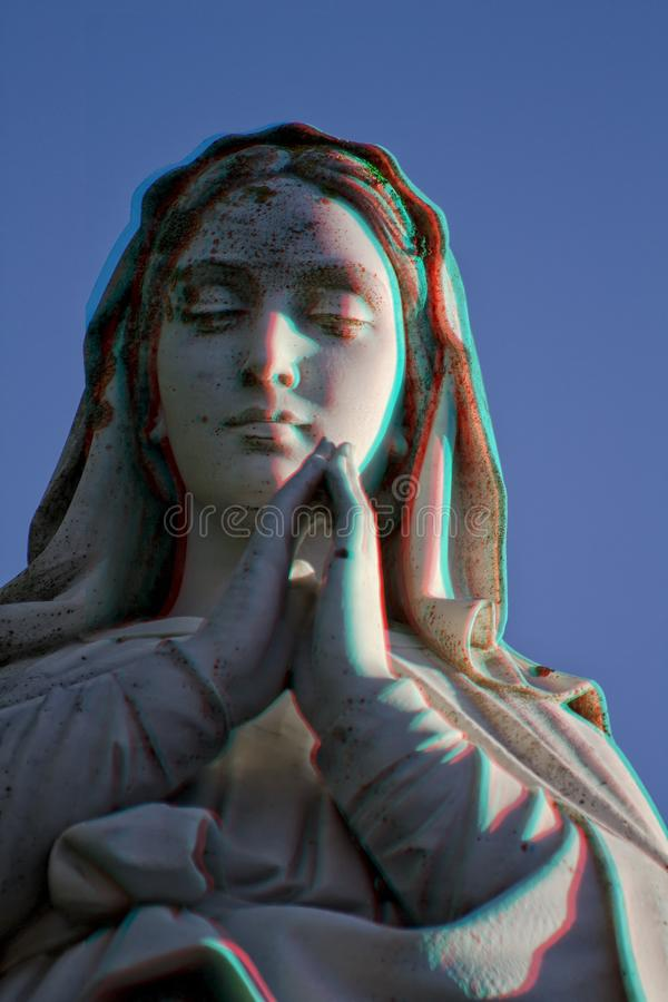 Il-Madonna 3D royalty free stock photography