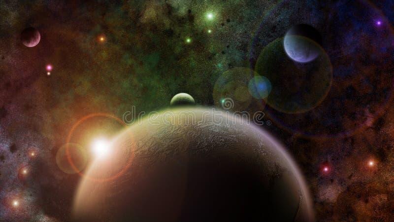 Il maggior universo immagine stock