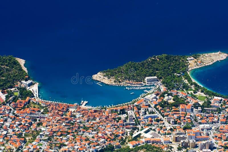 Il Makarska fotografia stock libera da diritti