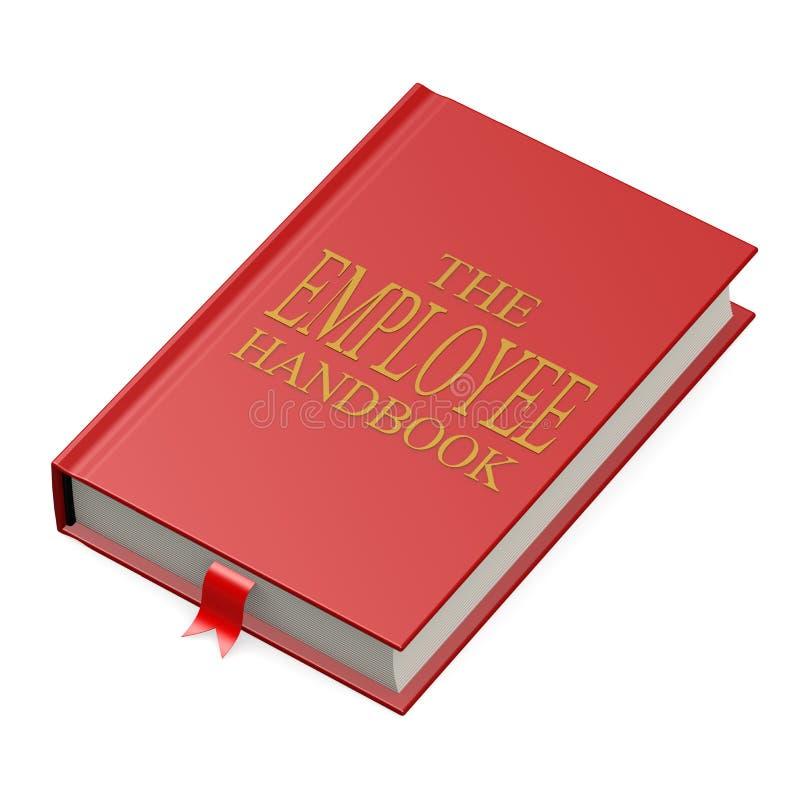 Il manuale degli impiegati illustrazione di stock