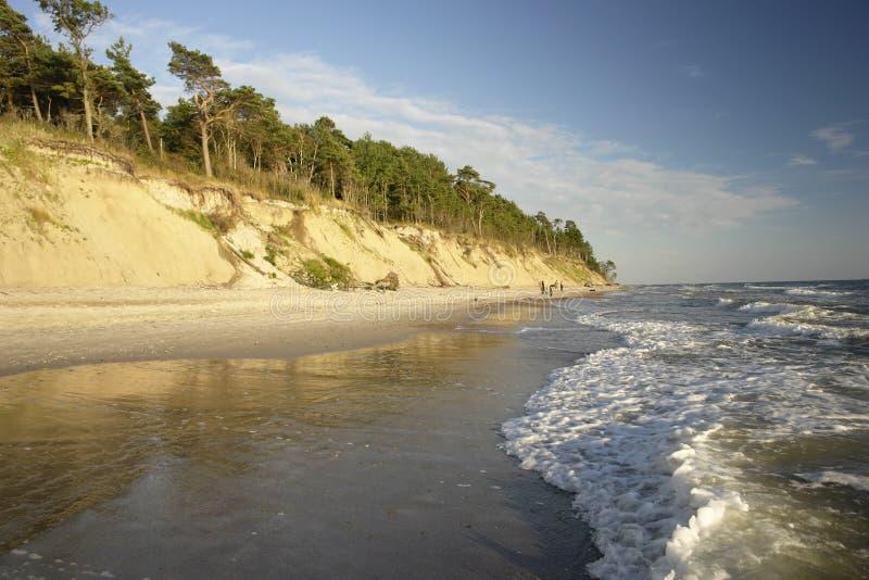 Il Mar Baltico fotografia stock libera da diritti