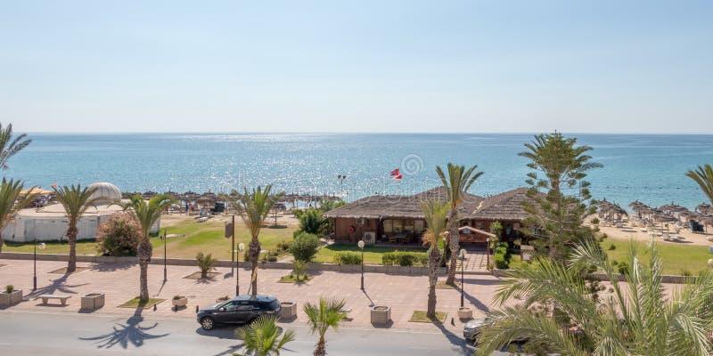 Il mar Mediterraneo in Tunisia tramite la mia lente fotografie stock libere da diritti