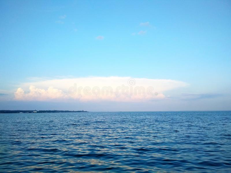 Il Mar Nero, Crimea fotografia stock libera da diritti