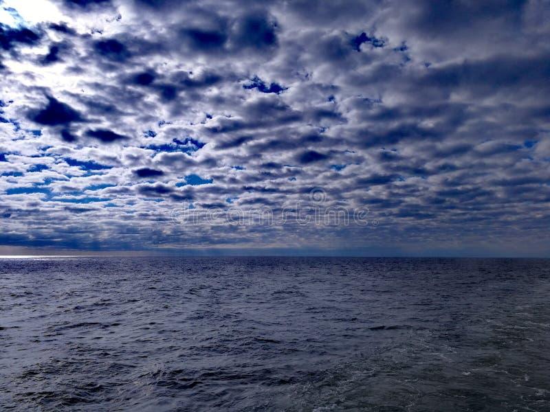 Il mare delle nubi immagini stock libere da diritti
