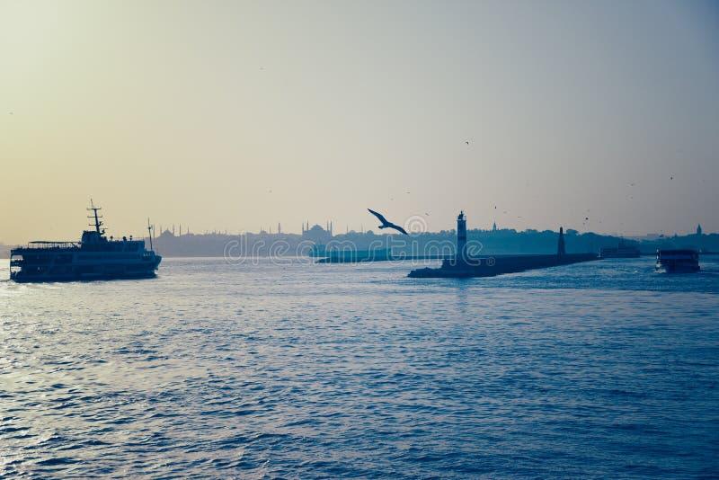 Il mare di Marmara immagine stock
