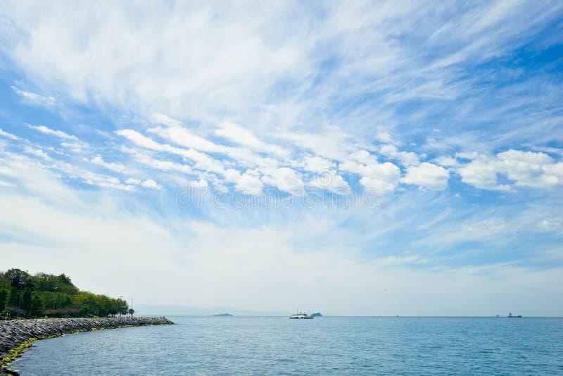 Il mare di Marmara fotografia stock libera da diritti