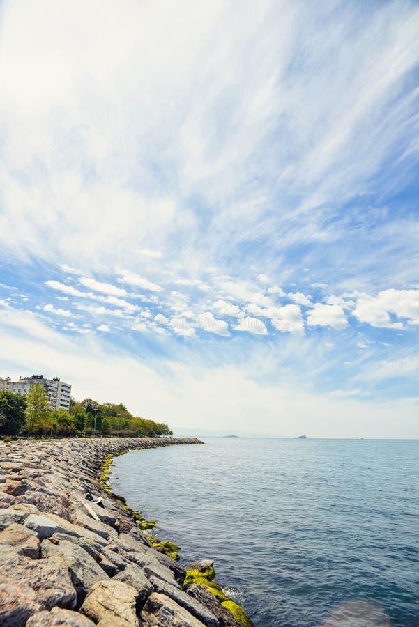Il mare di Marmara fotografie stock libere da diritti