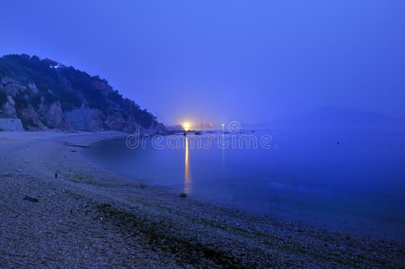 Il mare di mattina fotografie stock libere da diritti