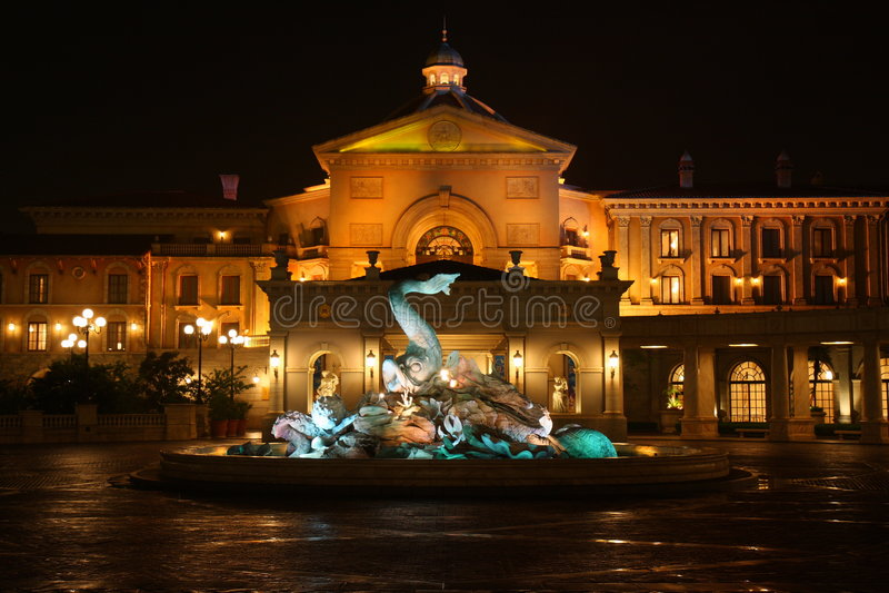 Il mare di Tokyo Disney dell'hotel @ immagine stock