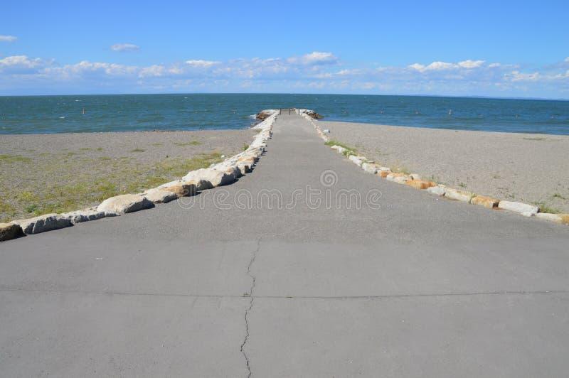 Il mare intorno ad Ise Bay Japan fotografia stock
