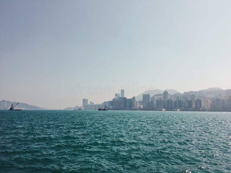 Il mare nel pomeriggio fotografia stock