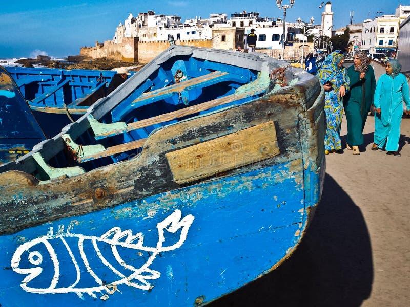 Il Marocco, Essaouira fotografie stock libere da diritti