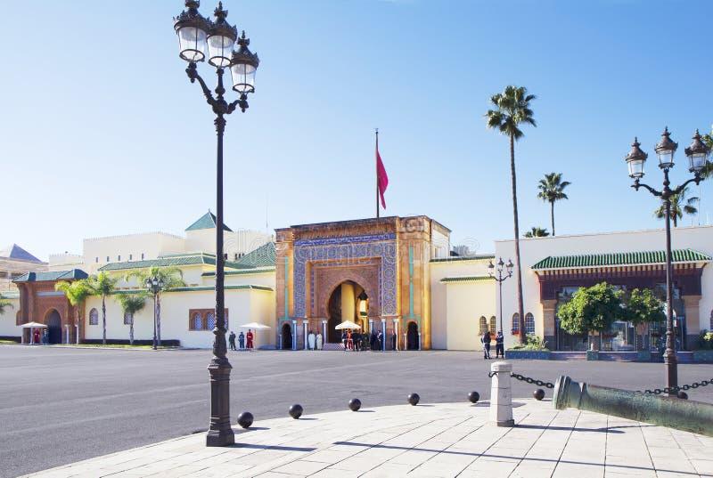 Il Marocco. Rabat. Royal Palace. fotografia stock libera da diritti