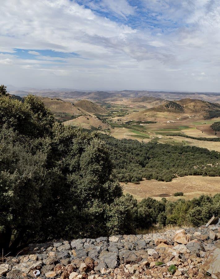 Il Marocco scenico immagine stock libera da diritti