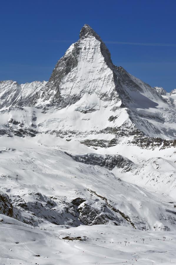 Il Matterhorn fotografia stock