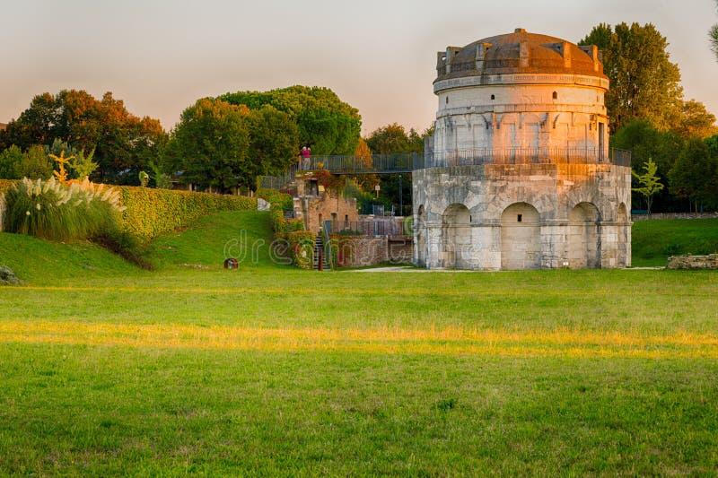 Il mausoleo di Theoderic fotografia stock libera da diritti