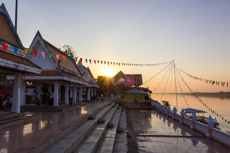 Il Mekong, Tailandia fotografia stock