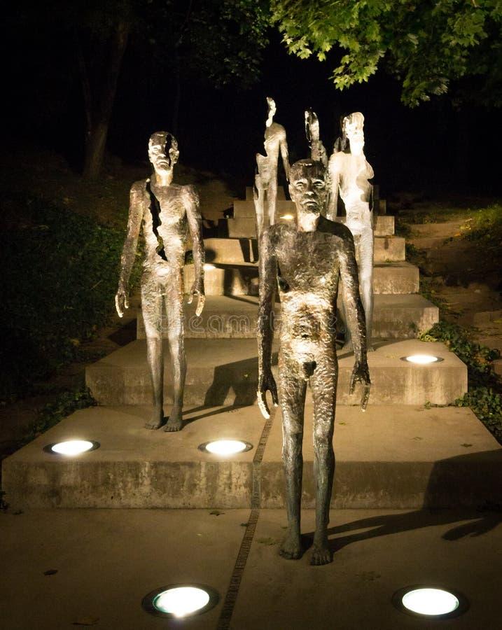 Il memoriale alle vittime di comunismo immagini stock libere da diritti