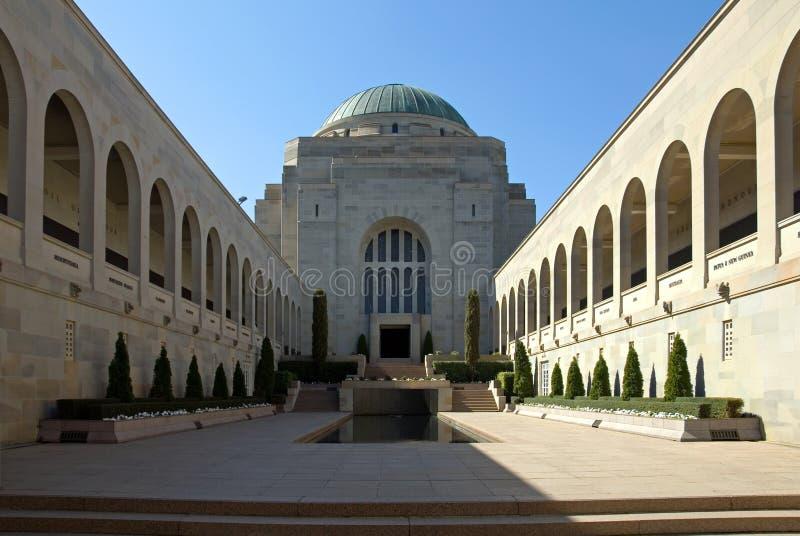 Il memoriale australiano di guerra immagini stock