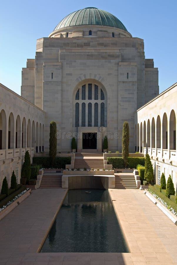 Il memoriale australiano di guerra immagine stock libera da diritti