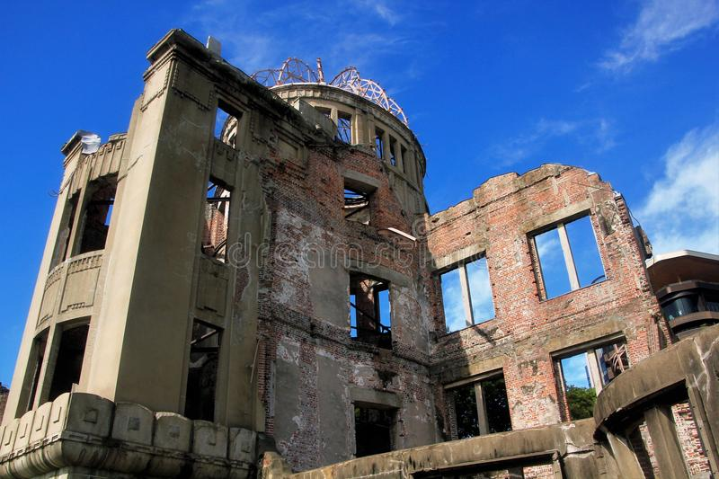 Il memoriale della cupola della bomba atomica immagine stock