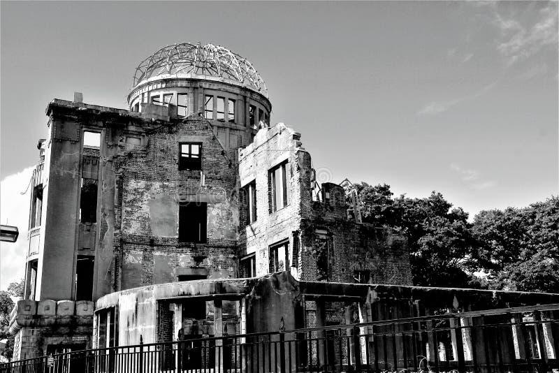 Il memoriale della cupola della bomba atomica immagine stock libera da diritti