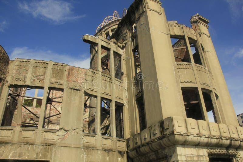 Il memoriale della cupola della bomba atomica fotografia stock