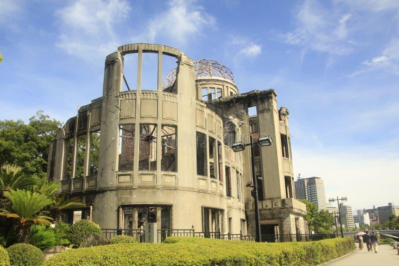 Il memoriale della cupola della bomba atomica fotografie stock