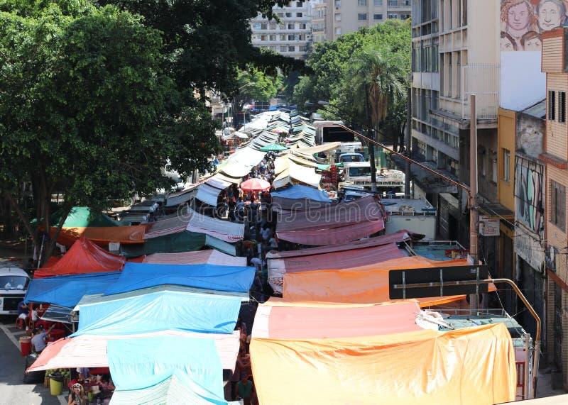 Il mercato di strada fotografia stock libera da diritti