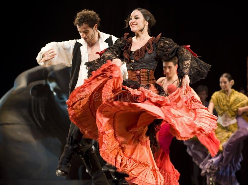Il migliore dramma di ballo di flamenco   fotografia stock