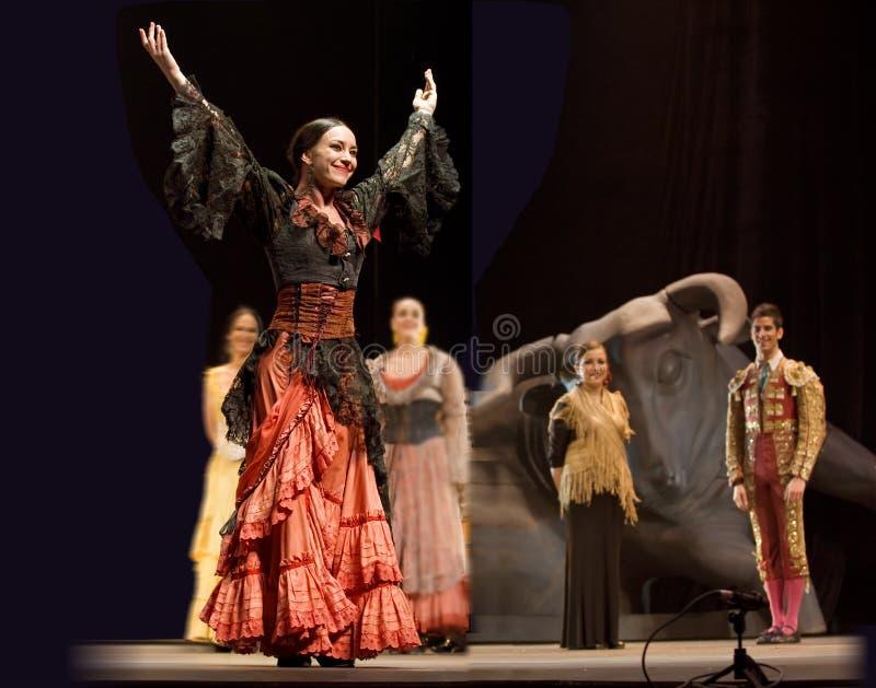 Il migliore dramma di ballo di flamenco: Carmen fotografia stock libera da diritti