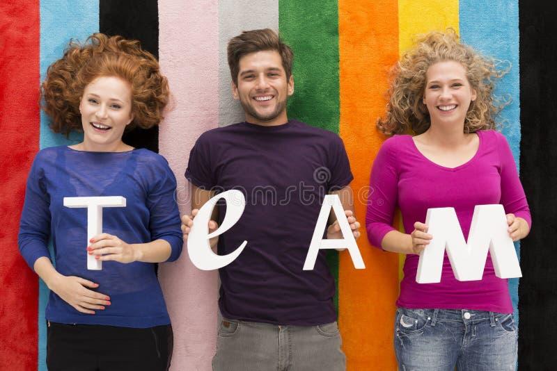 Il migliore gruppo dello studente fotografie stock libere da diritti