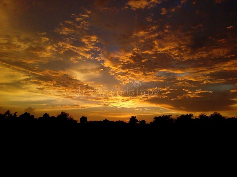 il migliore tramonto del mondo immagini stock
