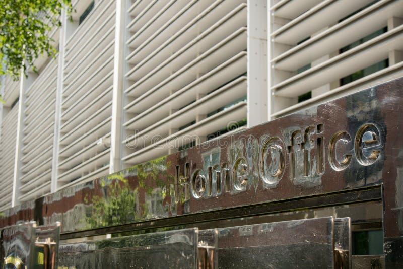 Il Ministero degli Interni, Londra, Regno Unito immagine stock