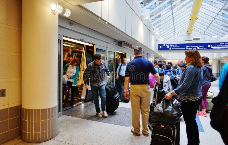 Il Minneapolis-san Paul International Airport (MSP) fotografia stock