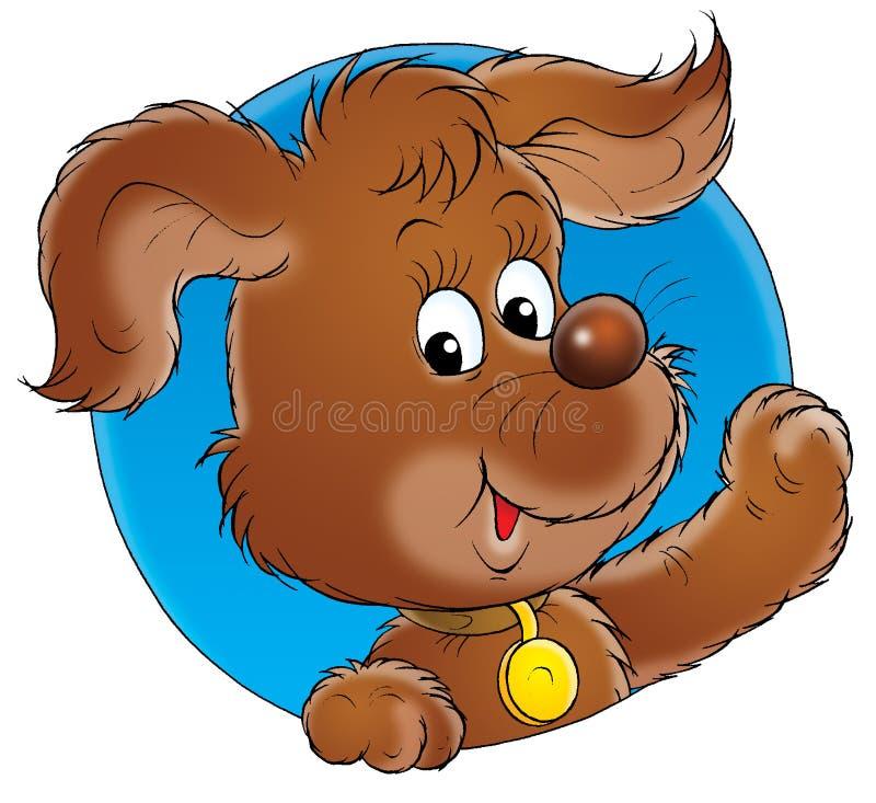 Il mio cane 002 royalty illustrazione gratis
